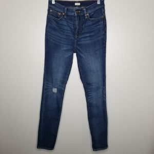J. Crew high rise jegging jeans